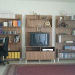 ספריה פתוחה בסלון