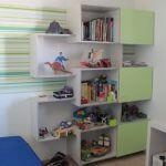ארון ספריה בחדר ילדים
