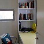 שולחן וספריה - פינת עבודה אלפרד