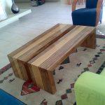 שולחן סלון פורניר אגוז אפריקאי